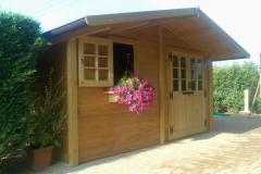casetta in legno cm 400 x 320